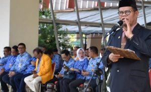 Rektor UNM Apresiasi Upacara HUT Korpri ke-48