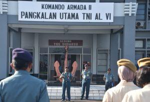 Apel Pagi, W.S. Wadan Lantamal VI Ingatkan Trisila TNI AL