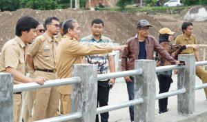 Bupati Sidrap Dollah Mando Kembali Pantau Rest Area