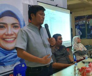 Chaidir - Suhartina Tunjuk Irfan AB, Master Campaign ''HatiKita Keren''