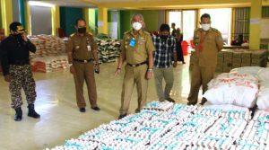 Husler Harapkan Dinas Sosial Segera Distribusikan Paket Sembako