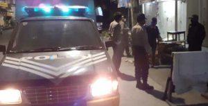 Imbau Terapkan PSBB, Polsek Wajo Tingkatkan Patroli Malam