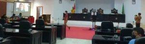 Antisipasi Corona, DPRD Lutra Paripurna LKPJ Melalui Teleconference