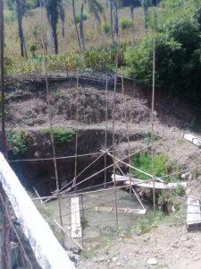 Warga Pertanyakan Terbengkalainya Pembangunan Jembatan Desa Tallu Bamba