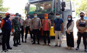 Pasca Penetapan 2 Positif Covid-19, Dusun Baturapa Disterilisasi Water Canon