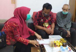 Dinsos dan LKS LU Wahyu Mandiri Bantu Sirajuddin Ketemu Keluarganya