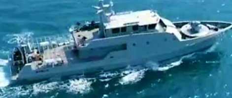 KAL Mamuju II-6-64 Siap Kawal Menteri Kelautan dan Perikanan Ke Pulau Bala-Balakang