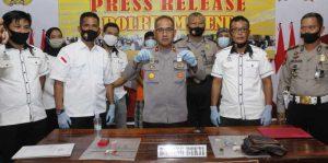 Dua Terduga Narkoba Dibekuk Polisi di Majene