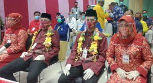 Anggota DPR RI, DPRD Prov. dan 5 Partai Pengusung Hadiri Pendaftaran BAS di KPU Selayar