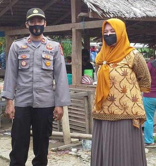 Gunakan Masker Tiap Hari Bila Beraktivitas, Komentar Iptu Junaidi Bukan Beban