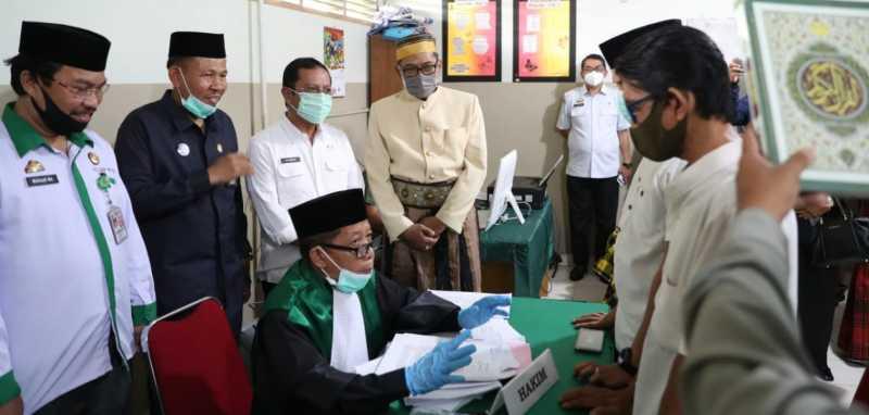 Dinsos Makassar Gelar Isbat Nikah Massal