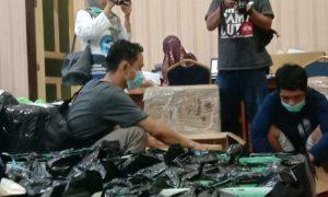Jelang Pencoblosan, KPU Majene Mulai Distribusikan Logistik ke Setiap Kecamatan
