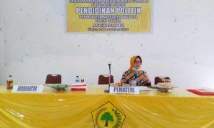 Andi Kartini: Kader Golkar Harus Tampil Memberi Solusi