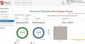 KPK Nyatakan LHKPN DPRD Barru Tercepat Urutan Ke-2 Se-Indonesia