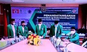 UMI Gelar MoU dengan BPP KKSS,UIN Alauddin, Institut Sinjai dan Politeknik Sandi Karsa