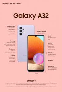 Tampil Awesome: Desain Kekinian Galaxy A32 YangPas Untuk Gen-Z hingga Millenials