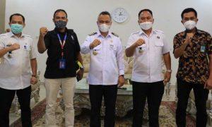 BNN Kota Palopo Temui Bupati Lutim, Bahas Program Desa Bersih Narkoba