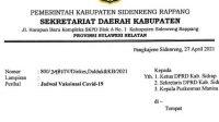 Besok, Giliran 35 Anggota DPRD Sidrap Divaksinasi Covid-19