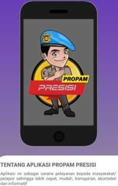 Propam Polres Pelabuhan Sediakan Aplikasi Laporan Polisi 'Nakal'