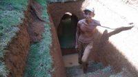 Dua Tahun Menggali, Bangun Rumah Bawah Tanah
