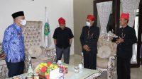 Pemangku Adat Pamona Temui Bupati Lutim Bicarakan Tentang Rapat Akbar