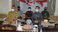 Temu Virtual, Bupati Lutim Siap Jalankan Arahan Presiden Joko Widodo