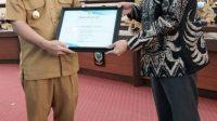 PLN Terima Penghargaan Kemanusiaan dari Plt. Gubernur Sulsel