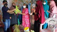 Ps Paur Kes Polres Berikan 50 Sembako dan Layanan Kesehatan ke Warga Kurang Mampu