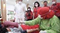 Aksi Donor Darah PSMTI Gowa Bantu PMI