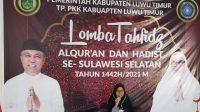 Arnis Khaliza Isnaeni Juara 1 Lomba Tahfidz Al Qur'an dan Hadist Se-Sulsel