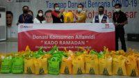Alfamidi Salurkan 1.000 Paket Sembako Kado Ramadhan dari Donasi Konsumen