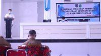 Bupati Beri Wejangan ke Kades, Terkait Pengelolaan Keuangan Desa