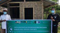 BEM KBMFK UMI Peduli Korban Bencana Nusa Tenggara Timur