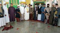 Wabup Sidrap Salat Idul Fitri di Masjid Agung, Imbau Warga Tetap Terapkan Prokes