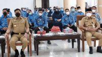 Bupati dan Wabup Gowa dan Jajaran Ikuti Arahan Plt Gubernur Sulsel