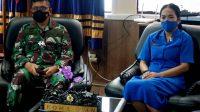 Danlantamal VI Hadiri Pengarahan dan Silaturrahim Plt. Gubernur Sulsel via Virtual