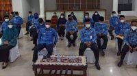 Bupati Lutim Silaturahmi Plt Gubernur Sulsel Secara Virtual
