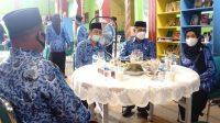 MTsN 1 Makassar Halal Bihaal dan Upacara Kesadaran Nasional