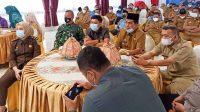 Wabup Saiful Arif Bersama Forkopimda Ikuti Pengarahan Umum Plt. Gubernur Sulsel