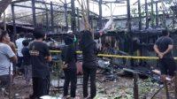 Sebuah Rumah Terbakar di Mappassaile, Kerugian Ditaksir Ratusan Juta