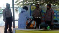Polres Pelabuhan Makassar Perketat Pemeriksaan Swab Antigen