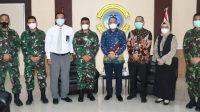 Danlantamal VI Terima Kepala Wilayah Regional Bank BTN Sulsel