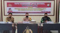 Polres Rakor Lintas Sektoral, Sambut Idul Fitri dan Operasi Ketupat 2021
