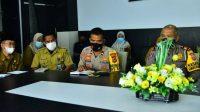 Antisipasi Penyebaran Covid-19, Pemkab -TNI dan Polri Segera Penyekatan Larangan Mudik
