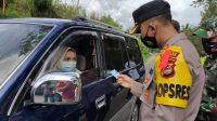 Kapolres - Forkopimda Cek Kesiapan Pos Penyekatan Mudik di Kecamatan Alla