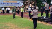 Kapolres Luwu Pimpin Apel Gelar Pasukan Operasi Ketupat 2021