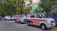 Launching Sijagai, 27 Mobil Puskesmas Pawai Keliling Pangkep