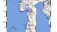 Enrekang Diguncang Gempa Tektonik