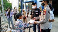 Sat Binmas Polres Bantaeng Bagi Takjil