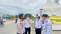 Kadishub-Dirlantas Polda Pantau Kesiapan Personel Penyekatan Wilayah